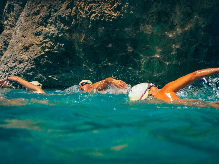 nageur canyon des gorges du verdon swim experience